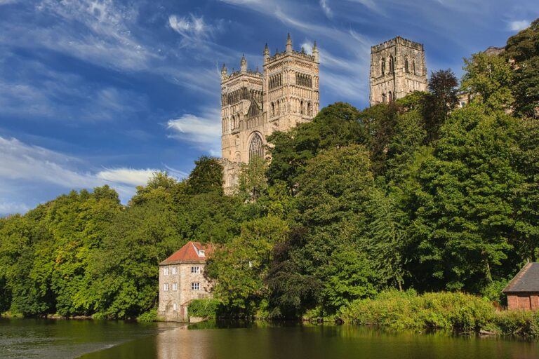 durham, cathedral, city